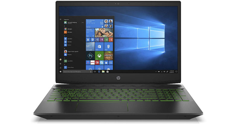 HP Pavilion 15 - Best Gaming Laptops Under $800