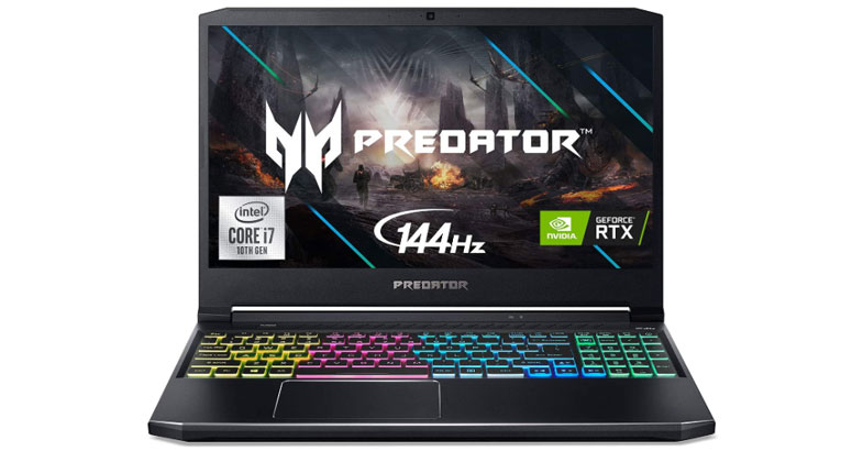 Acer Predator Helios 300 - Best Laptops For Fusion 360