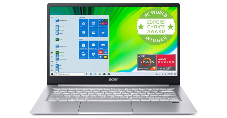 Acer Swift 3 - Best Laptops Under $700